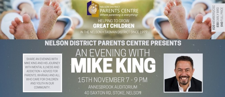 An Evening With Mike King: CANCELLED