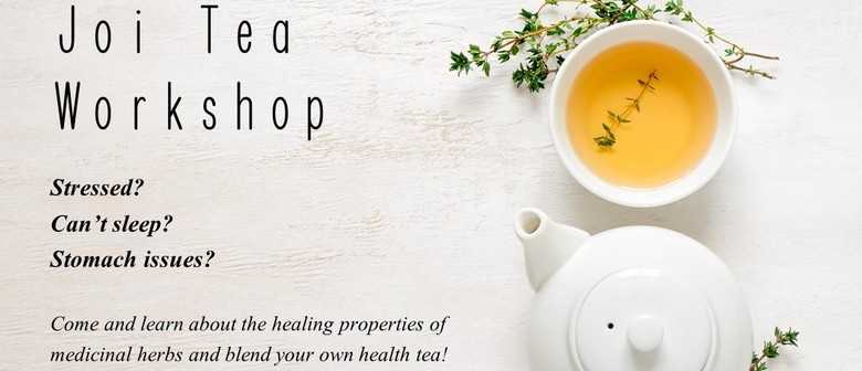 Joi Tea Workshop