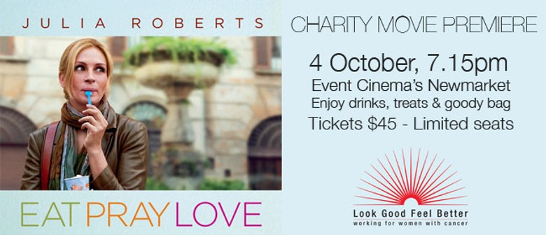 Eat Pray Love Charity Movie Premiere