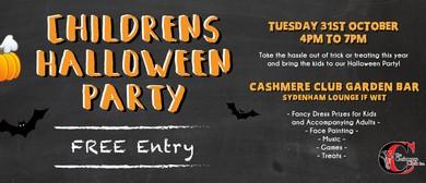 Halloween Children's Party
