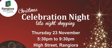 Christmas Celebration Night