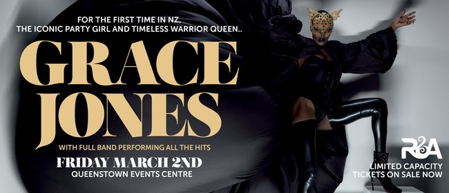 Grace Jones with Full Live Band