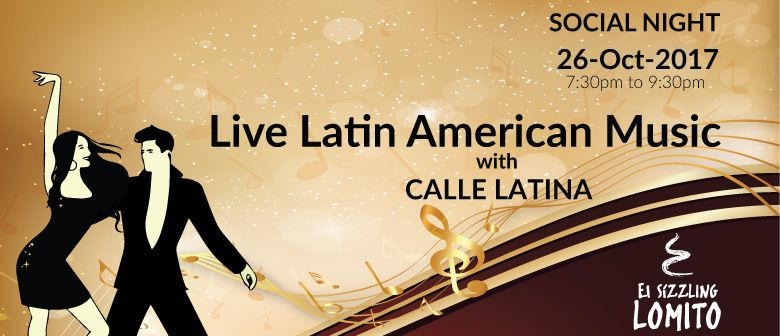 Social Night With Live Latin American Music