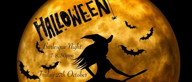 Halloween Burlesque Night