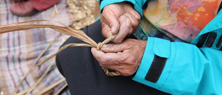 Rekindle Workshop: String & Rope-making With Tī Kōuka Leaves
