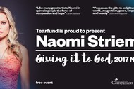 Naomi Striemer - Giving It to God NZ Tour