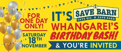 Save Barn Whangarei's Birthday Bash