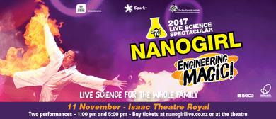 Nanogirl Live In Engineering Magic - Christchurch