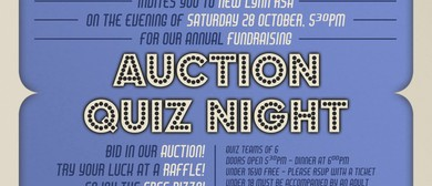 No. 19 (Auckland) Squadron, Charity Auction & Quiz Night