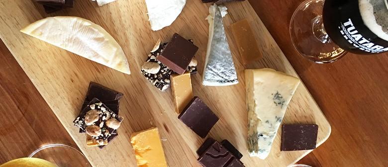 Beer, Cheese & Chocolate Tasting