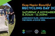 Keep Napier Beautiful Recycling Day