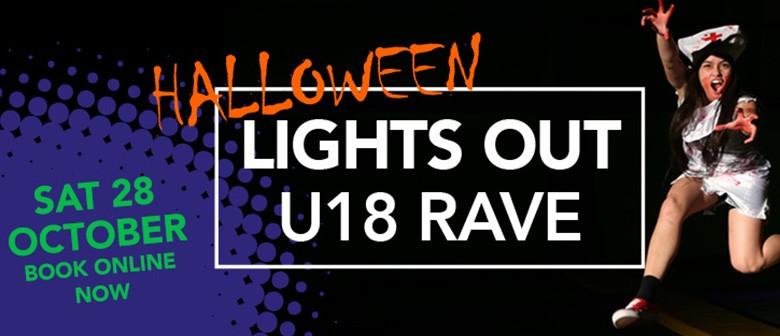 Jump Halloween Lights Out U18 Rave