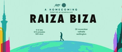 Raiza Biza - A Homecoming - Wellington Show