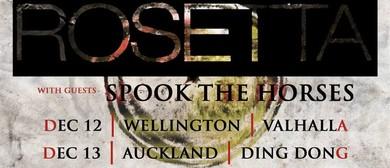 Rosetta (USA) - Utopioid NZ Tour with Spook The Horses