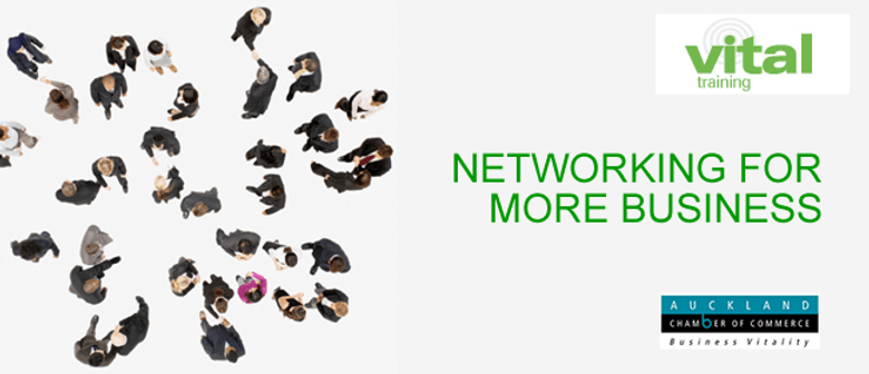 Vital Training: Networking for More Business