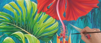 Tropical Painting Workshop With Paula Knight