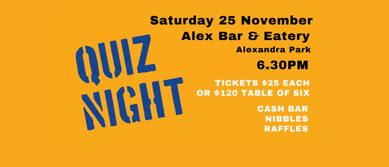 Mt Eden Rotary QUIZ NIGHT