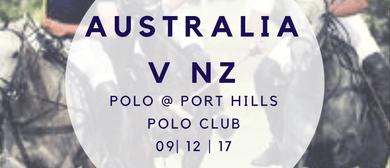 Stella Artois International Polo Aus v NZ