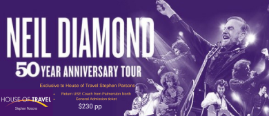 Neil Diamond Mission Estate Winery Trip 2018