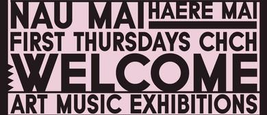 First Thursdays Chch: Welcome