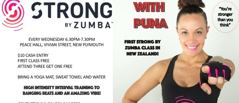 Strong by Zumba with Puna