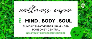 Wellness Expo for Mind.Body.Soul