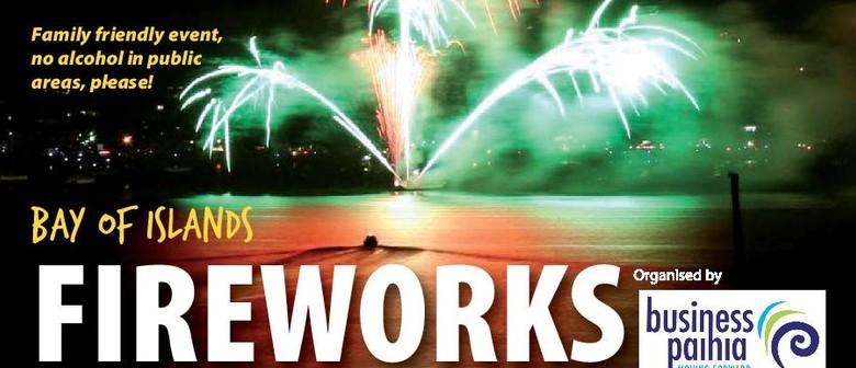 Paihia New Years Eve Fireworks