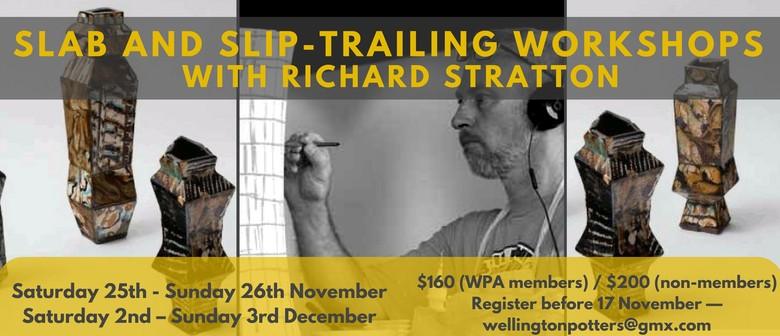 Richard Stratton's Ceramic Slab and Slip-Trailing Workshops