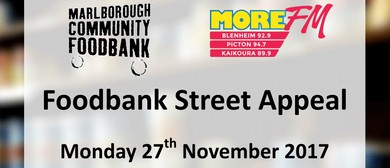 More FM Marlborough Foodbank Street Appeal