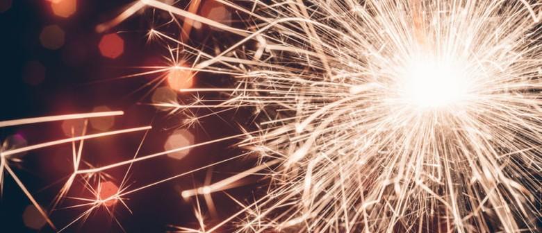 Fireworks at Wah Lee's