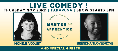 Live Comedy at Master  & Apprentice