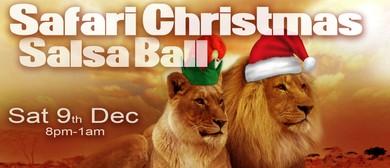 Safari Christmas Salsa Ball 2017