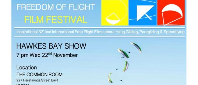 Freedom of Flight Film Festival Hawkes Bay Show