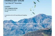 Freedom of Flight Film Festival Hawkes Bay Show