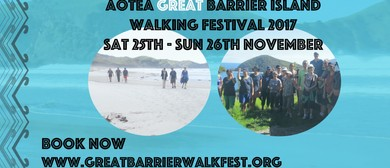 Aotea Great Barrier Island Walking Festival