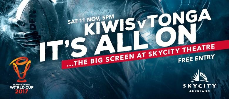WATCH RLWC LIVE & FREE: Kiwis v Tonga