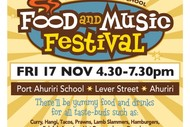 Port Ahuriri School Food and Music Festival
