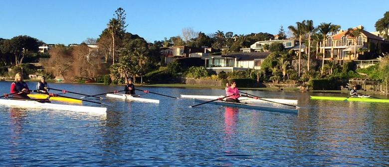 Twilight Rowing