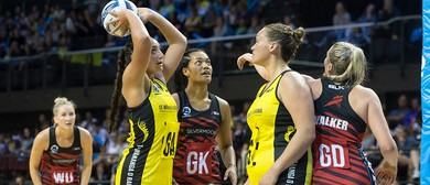 ANZ Premiership Netball - Central Pulse vs Silvermoon Tactix