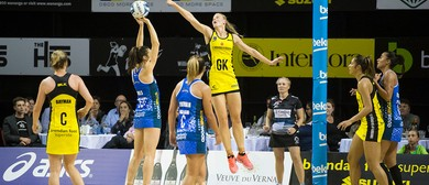 ANZ Premiership Netball - Central Pulse vs Skycity Mystics