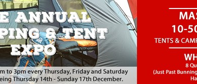 The Annual Camping & Tent Expo 2017