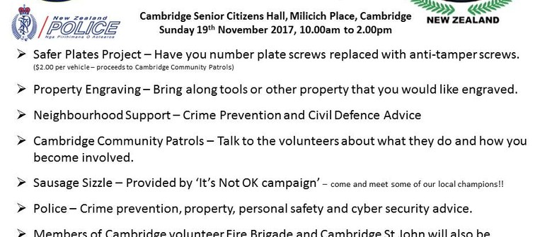 Community Safety Day and Safer Plates Project