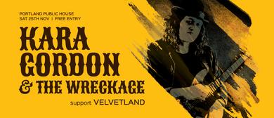 Kara Gordon & The Wreckage with Velvetland