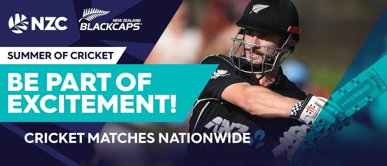 BLACKAPS v Pakistan - 2nd ODI