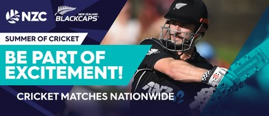 BLACKCAPS v England - T20 Tri-Series