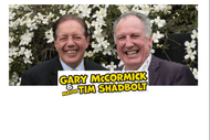 Gary McCormick and Mayor Tim Shadbolt