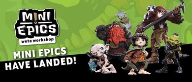 Weta Workshop's Mini Epics Launch