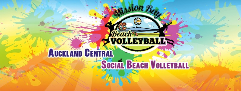 Acvc summer series mixed 4s beach volleyball auckland - Mission bay swimming pool auckland ...