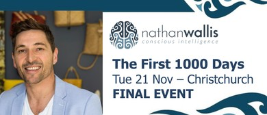 Nathan Wallis - The First 1000 Days: SOLD OUT