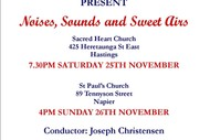 Noises, Sounds and Sweet Airs: Cantare Chamber Choir